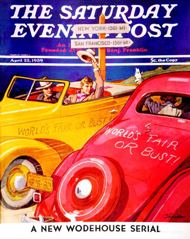 Saturday Evening Post Cover image
