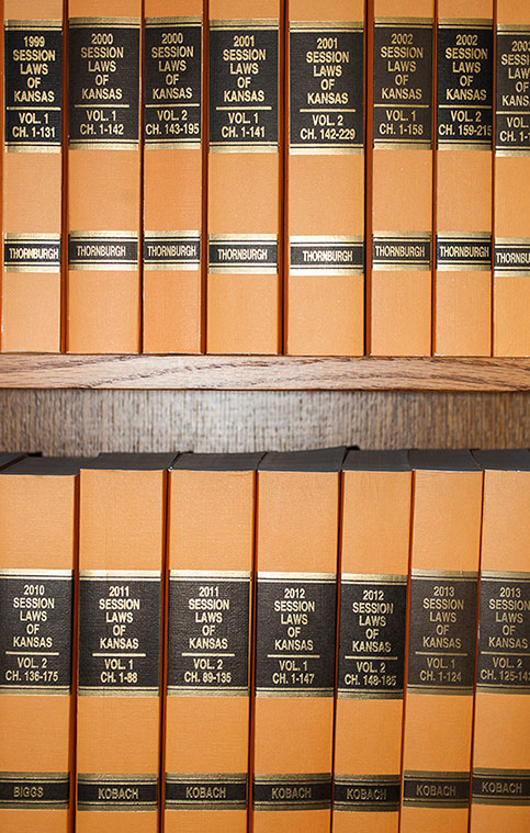 Session Law Books image